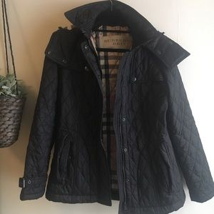 Authentic Burberry Brit Rain Jacket